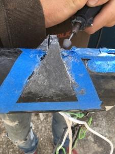Installation et fabrication de guides de drisses